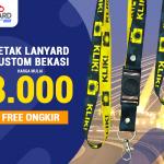 Cetak Lanyard Custom Bekasi